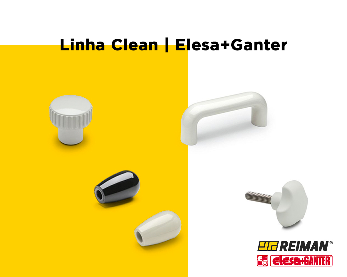 Linha Clean | Elesa+Ganter