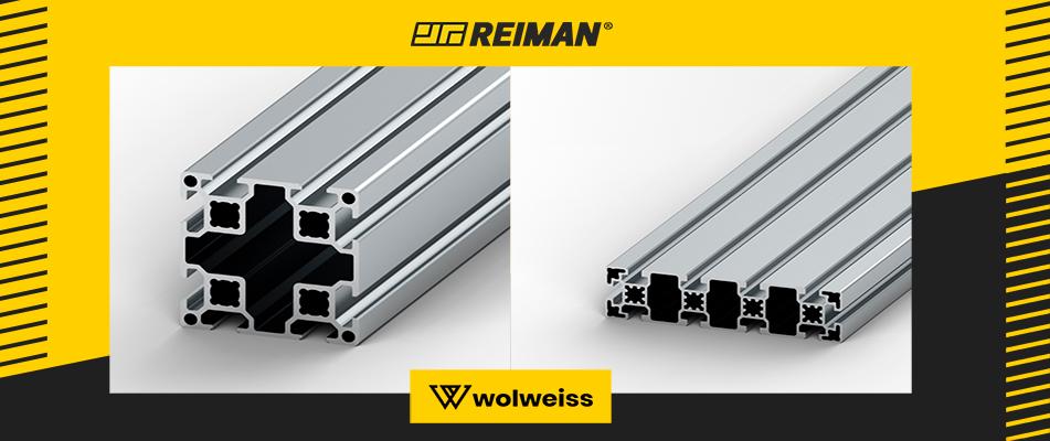 Perfis de alumínio: Soluções modulares