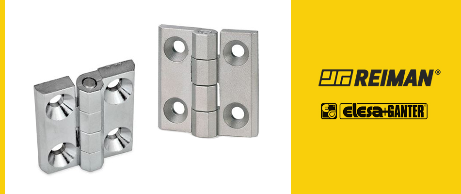 5 types of hinges most used in industrial applications