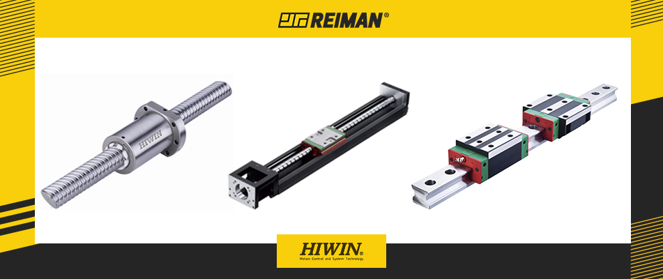 Reiman is the official distributor of Hiwin products in Portugal