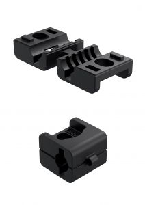 3-904 Dual Rod Guide FS/RS 18mm