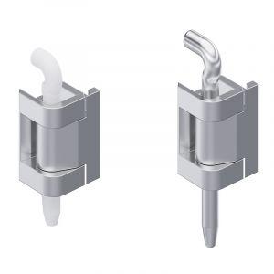7-132 Hinge Pr05 180° Stainless Steel