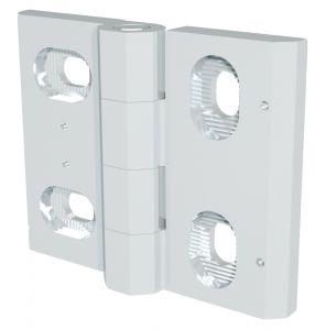 7-204 Hinge, adjustable Pr01 180° Stainless Steel