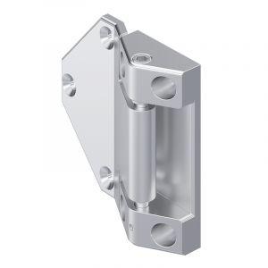 7-225 Hinge, adjustable Pr01 180° Stainless Steel