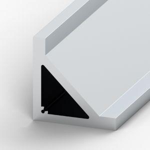 Perfil de alumínio Cantoneira 100x100x15mm
