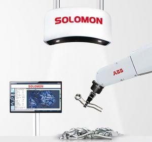 Solomon BinPicking Accupick 3D com Scanner 3D