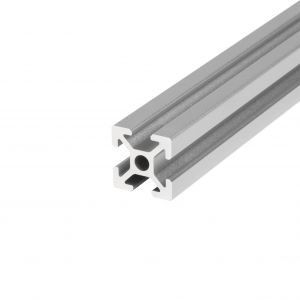 Aluminium profile 20x20 4 slots