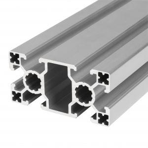 Perfil de alumínio 40x80 6 rasgos Super Ligeiro