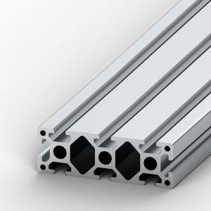 Perfil de alumínio 40x120 8 rasgos Reforçado