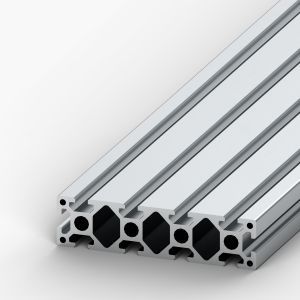 Perfil de alumínio 40x160 10 rasgos Reforçado