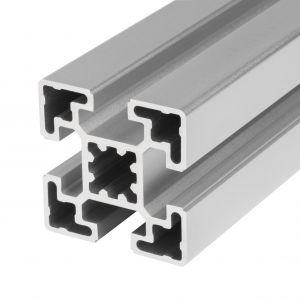Perfil de alumínio 45x45 4 rasgos
