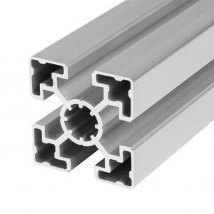 Perfil de alumínio 45x45 4 rasgos Ligeiro