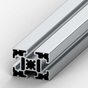 Perfil de alumínio 45x60 4 rasgos