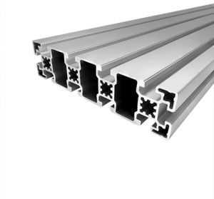Perfil de alumínio 45x180 10 rasgos