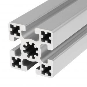 Perfil de alumínio 50x50 4 rasgos
