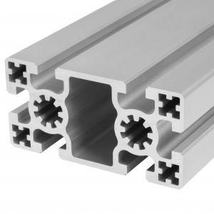Perfil de alumínio 50x100 6 rasgos