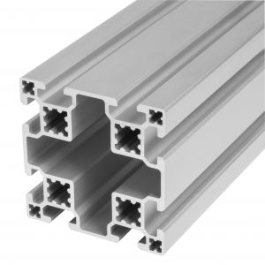 Aluminium profile 80x80 8 slots