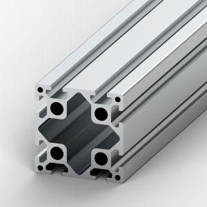 Aluminium profile 80x80 8 slots Heavy