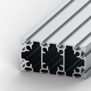 Perfil de alumínio 90x180 12 rasgos
