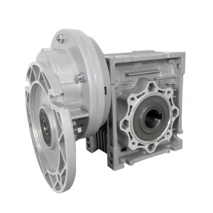 BGPC Redutores de roda de coroa e sem fim com pré-redução e flange IEC de entrada