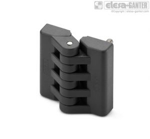 CFA-B-p Hinges bosses with threaded hole and threaded studs