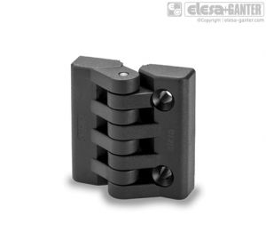 CFA-B-SH Hinges bosses with threaded hole and pass-through holes for countersunk head screws