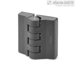 CFA-F-B Hinges with detent position at 90° bosses with threaded hole