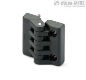 CFA-p-CH Hinges threaded studs and pass-through holes for cylindrical head screws