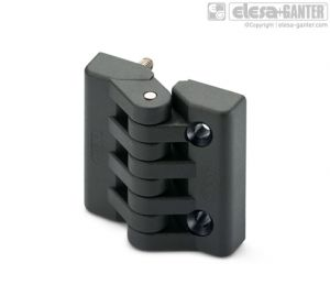 CFA-p-SH Hinges threaded studs and pass-through holes for countersunk head screws