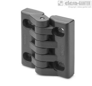 CFA-SL-H Hinges with slotted holes of adjustment for horizontal adjustments