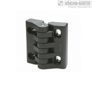 CFA-SL-HV Hinges with slotted holes of adjustment for both horizontal and vertical adjustments