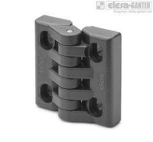 CFA-SL-V Hinges with slotted holes of adjustment for vertical adjustments
