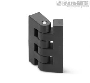 CFF-B Hinge for thin frames nickel-plated brass bosses with threaded hole