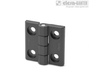 CFM-CH Hinges pass-through holes for cylindrical head screws with washer