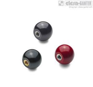 DIN 319-KU Ball knobs, plastic