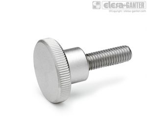 DIN 464-NI Parafusos recartilhados de aço inoxidável