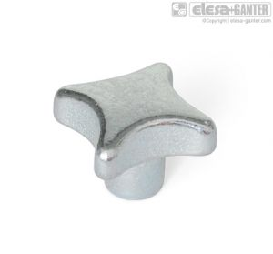 DIN 6335-ZB Hand knobs zinc plated