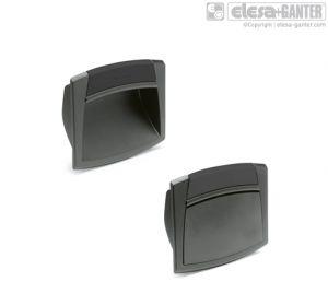 EPR. Flush pull handles