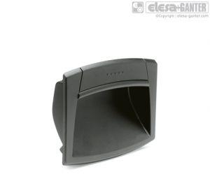 EPR-PF-IP Flush pull handles with gasket