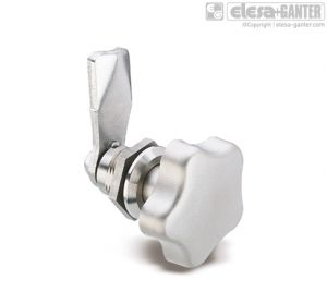 GN 115-NL-NI Latches stainless steel