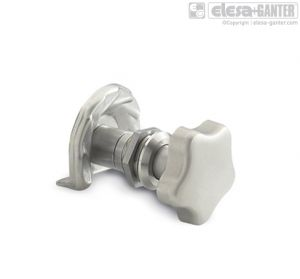 GN 119-NI Latches stainless steel