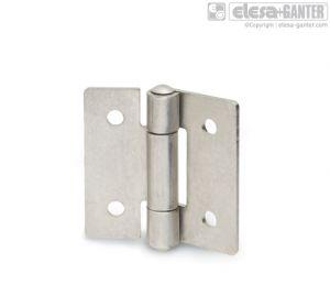 GN 136-NI Sheet metal hinges stainless steel