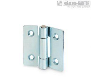 GN 136 Sheet metal hinges steel