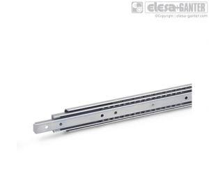 GN 1460 Stainless Steel-Telescopic slides