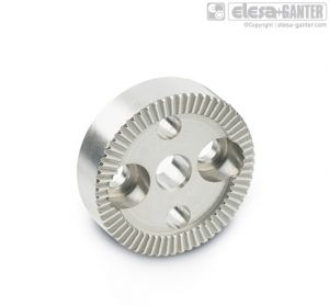 GN 187.4-NI Serrated locking plates stainless steel