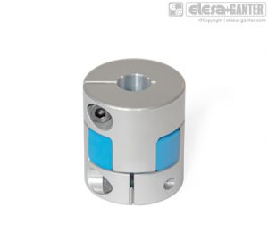 GN 2240-B Elastomer jaw couplings without keyway