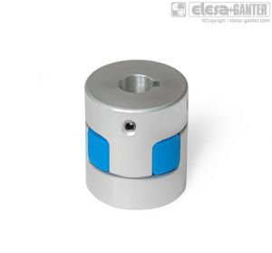 GN 2241-K Elastomer jaw couplings with keyway (from d1 = 30)