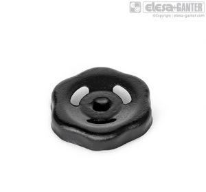GN 227.6 Pressed steel handwheels