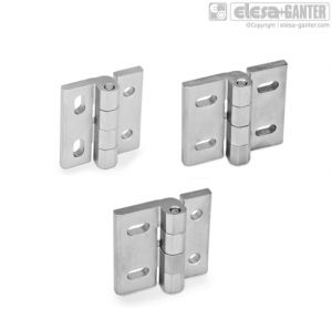 GN 235-NI Hinges stainless steel
