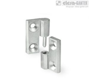 GN 337-NI Hinges stainless steel